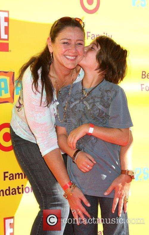 Camryn Manheim and Son Milo 3