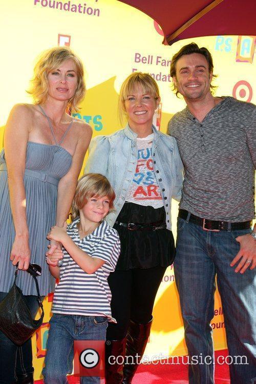 Eileen Davidson & Son Jesse Van Patten, Maria...