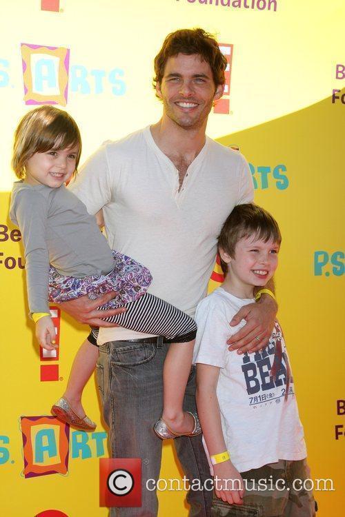 James Marsden and His Children 2
