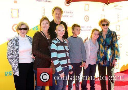 Jeanne Cooper, sister, Son Collin, Daughter Caren &...