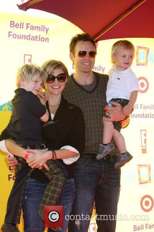 Joel McHale & Family 2009 P.S. Arts Express...