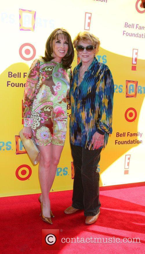 Kate Linder & Jeanne Cooper 2009 P.S. Arts...
