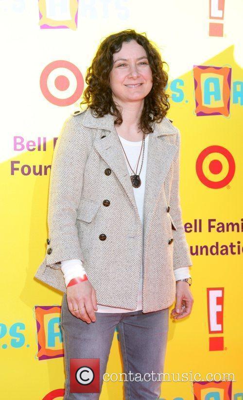 Sara Gilbert 2009 P.S. Arts Express Yourself event...