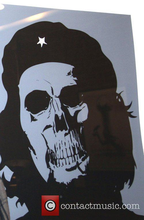 Blue Skull The Art of Rebellion held at...