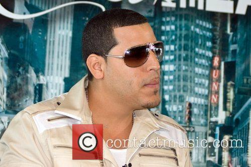 Aventura hold a press conference to promote their...