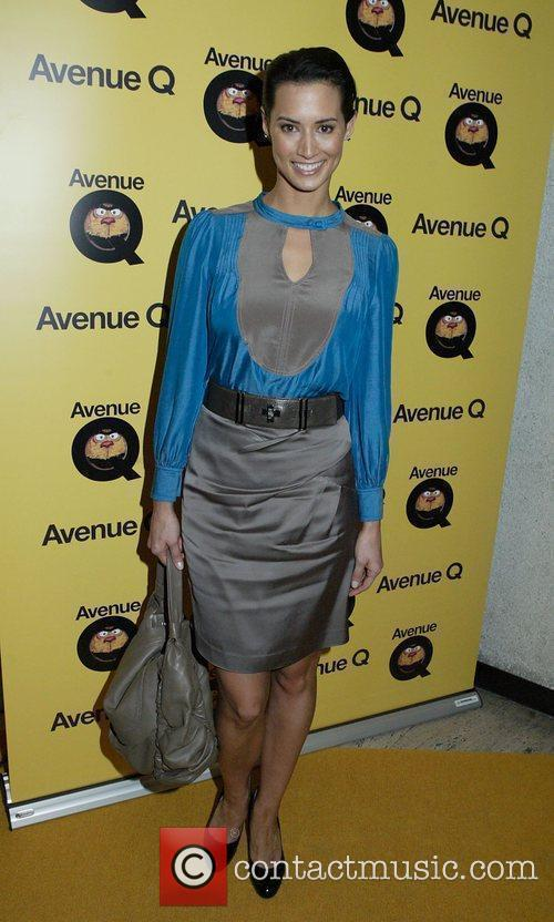 Sara Groen at the Sydney premiere of 'Avenue...