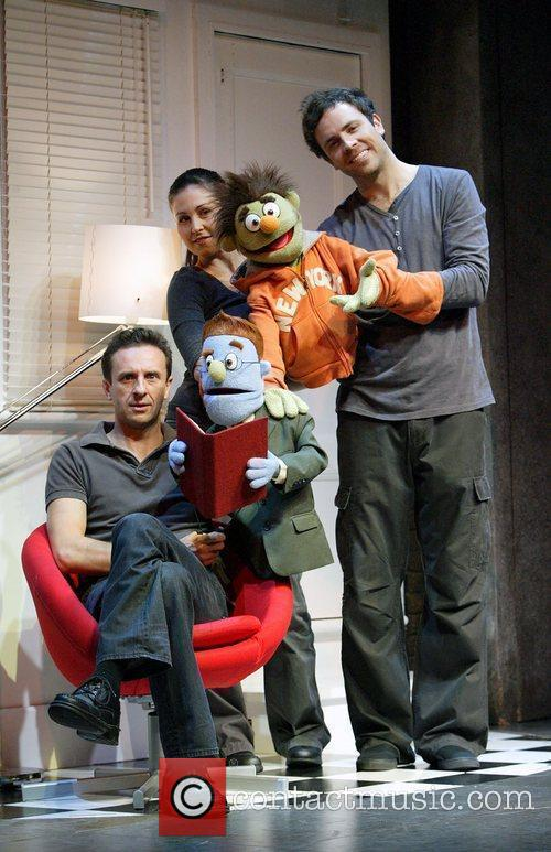Mitchell Butel, Natalie Alexopoulos and Luke Joslin (l-r) 2