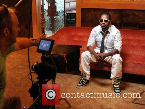 Rapper Azz-izz On Location Filming The Video For His New Song 'let's Go' Directed By Tom Ashley At The Chelsea Hotel In Atlantic City 4
