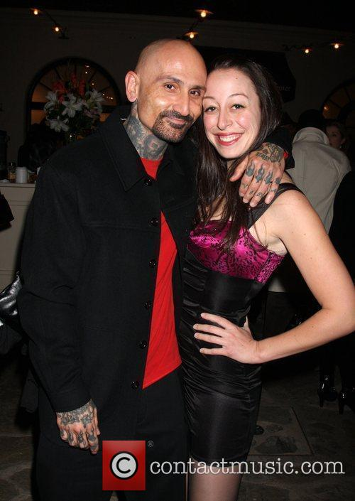 Robert LaSardo and guest The opening night of...