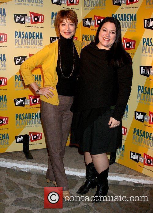 Sharon Lawrence and Brooke Elliott The opening night...