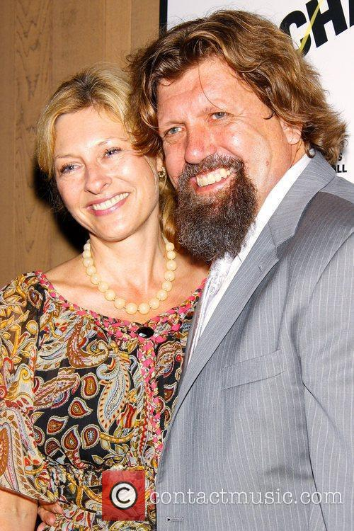 Oskar Eustis and His Wife Lori 2