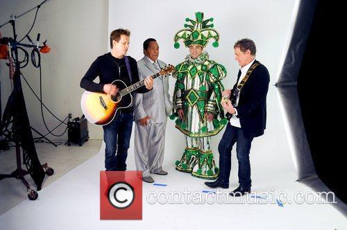 Kevin Bacon, Bunny Sigler, Philadelphia Mummer Jim Werner...
