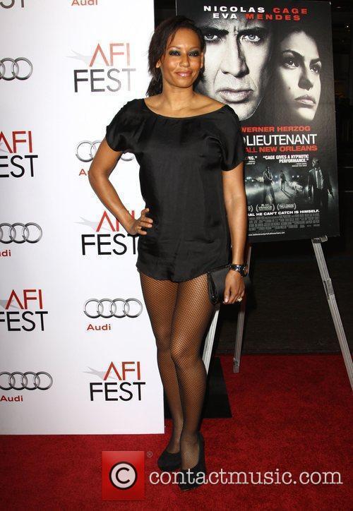 Melanie Brown AKA Mel B Los Angeles Premiere...