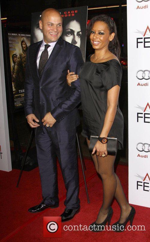 Stephen Belafonte and Melanie Brown AKA Mel B...