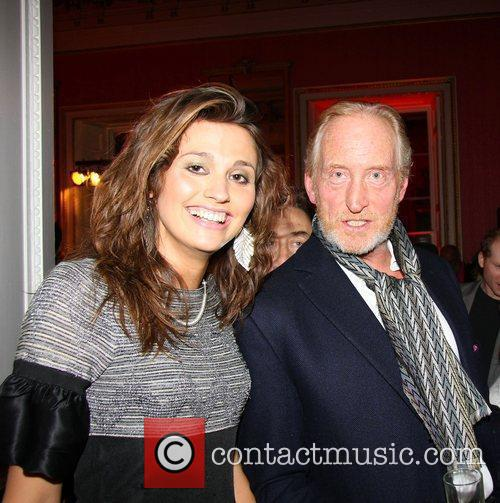 Olivia Cole and Charles Dance