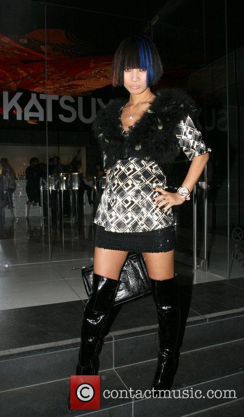 Bai Ling  at Katsuya in Hollywood Los...