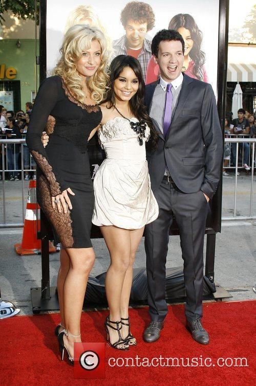 Alyson Michalka, Vanessa Hudgens and Gaelan Connell