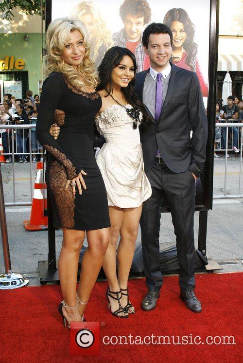 Alyson Michalka, Vanessa Hudgens and Gaelan Connell Los...