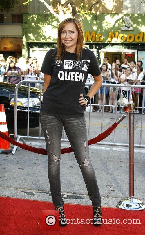Brandi Cyrus Los Angeles Premiere of 'Bandslam' held...