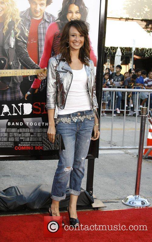 Caitlyn Taylor Love Los Angeles Premiere of 'Bandslam'...