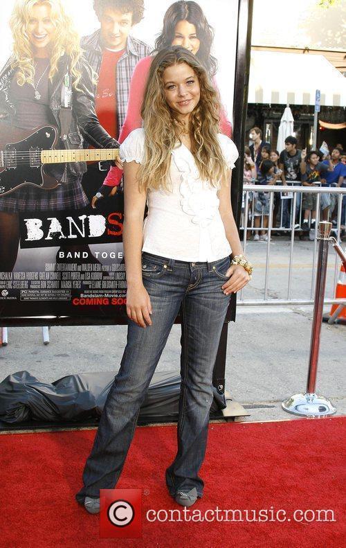 Sasha Piertese Los Angeles Premiere of 'Bandslam' held...