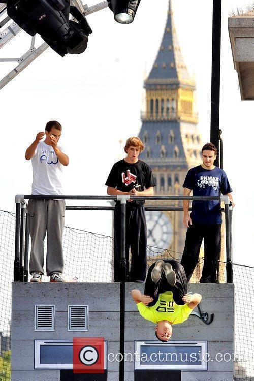 Participants Of The Barclaycard World Freerun Championship 2009 Held At Trafalgar Square 8