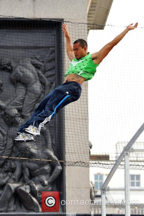 Participants of the Barclaycard World Freerun Championship 2009...