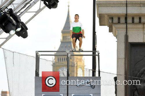 Participants Of The Barclaycard World Freerun Championship 2009 Held At Trafalgar Square 2