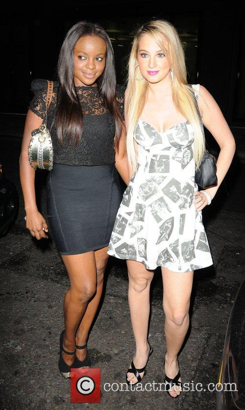 Keisha Buchanan and a friend 6