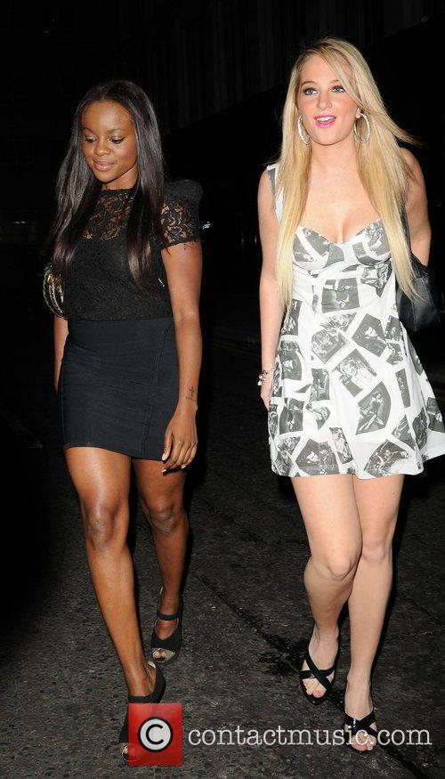 Keisha Buchanan and a friend 4
