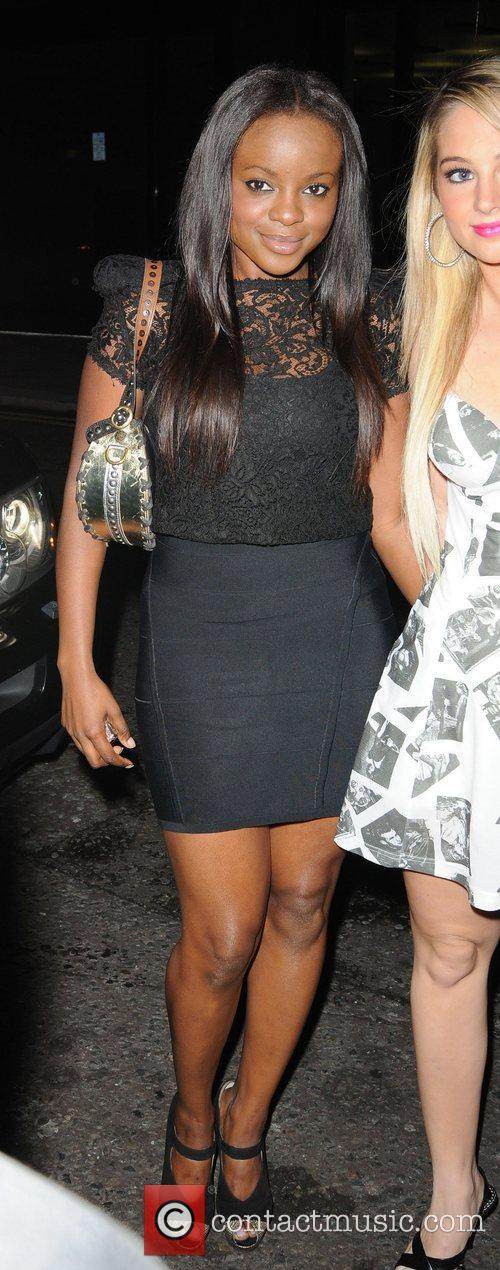 Keisha Buchanan and a friend 5