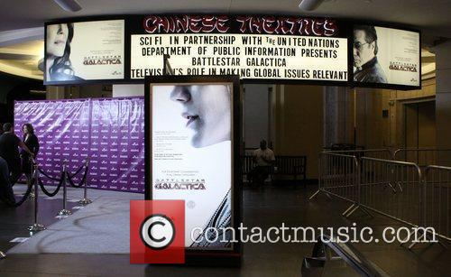 Atmosphere 'Battlestar Galactica' screening as part of the...