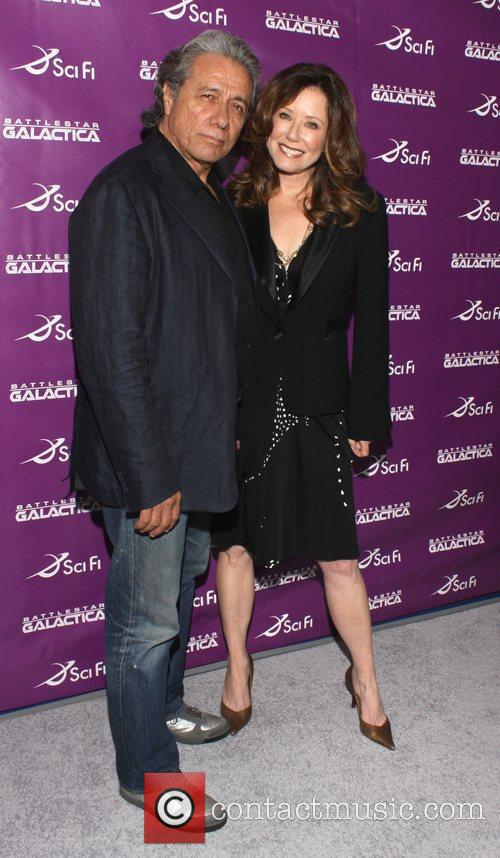 Edward James Olmos and Mary Mcdonnell 7