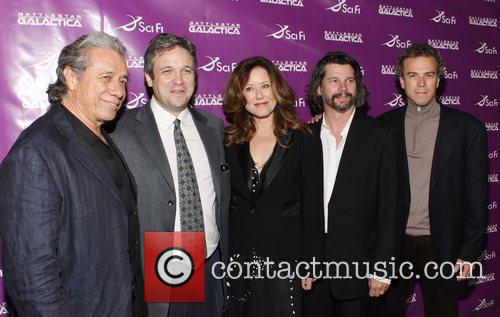 Edward James Olmos and Mary Mcdonnell 2