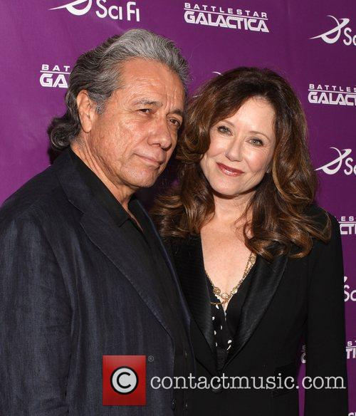 Edward James Olmos and Mary Mcdonnell 8