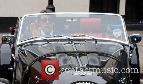 Jonathan Ross leaving the BBC Studios in Maida...