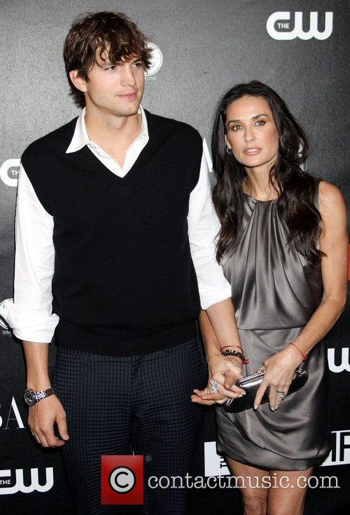 Ashton Kutcher and Demi Moore 1