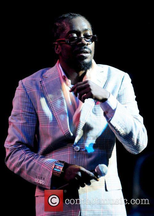 Reggae singer Beenie Man performing live at Reggae...