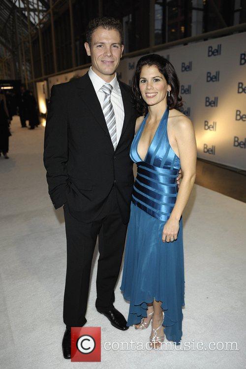 David Pelletier and wife Jamie Sae Bell Gala...