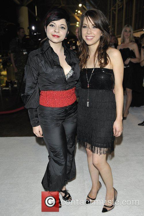 Shiloh (L) and Carly Rae Jepsen Bell Gala...