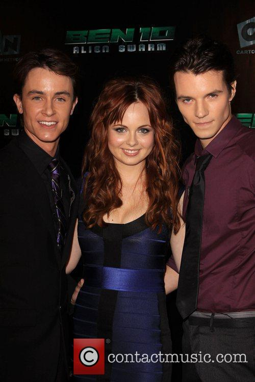 Ryan Kelley, Galadriel Stineman and Nathan Keyes