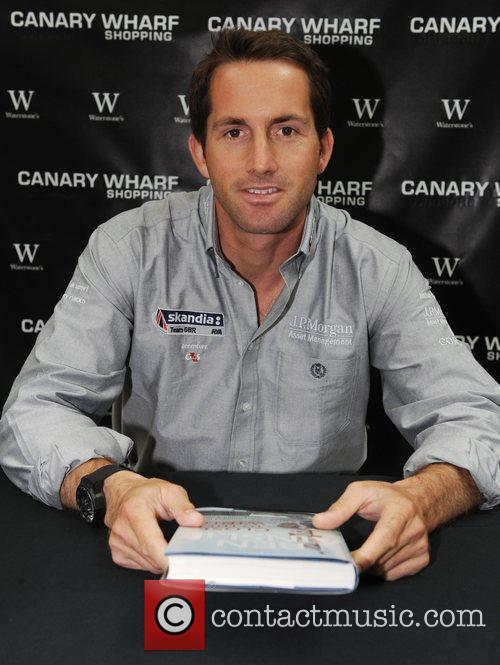 Ben Ainslie Signs Copies Of His Book 'close To The Wind' At Waterstones 3