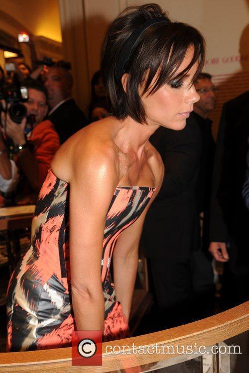 Victoria Beckham Bergdorf Goodman celebrates Fashion's Night Out...