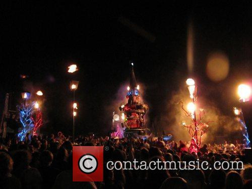 The Bestival 3 day music festival held at...