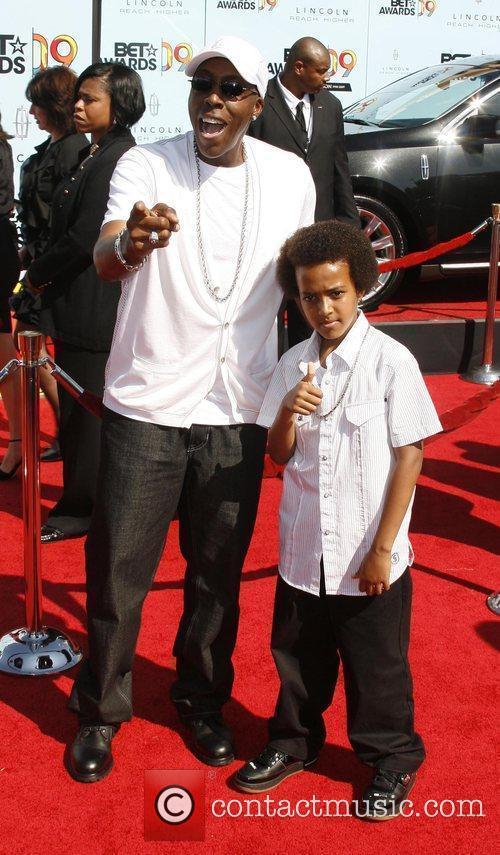 Arsenio Hall and Arsenio Hall Jr. 2009 BET...