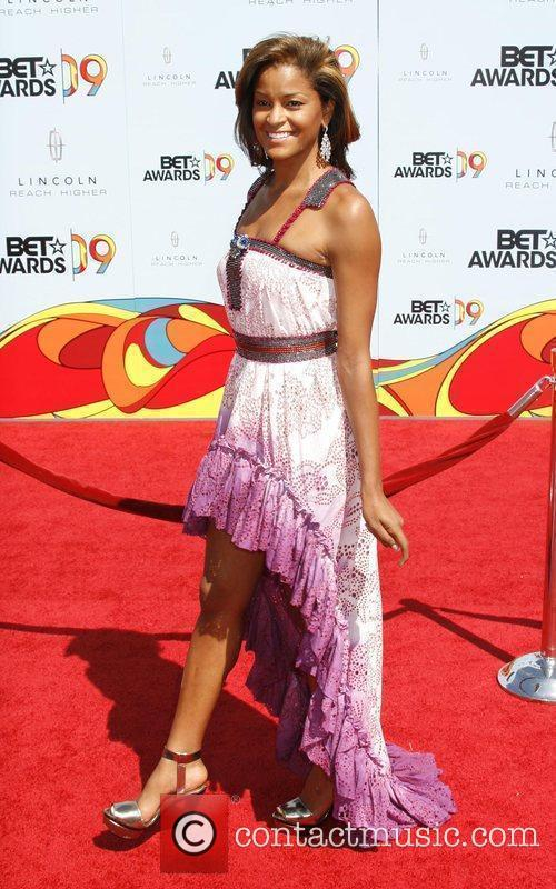 Claudia Jordan 2009 BET Awards held at the...