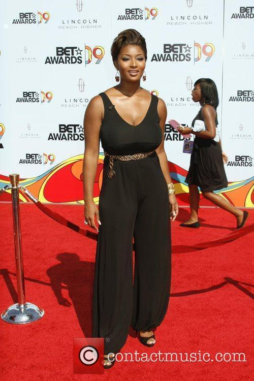 Toccara 2009 BET Awards held at the Shrine...