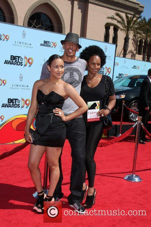 Doug Christie, Jackie and Chani  2009 BET...