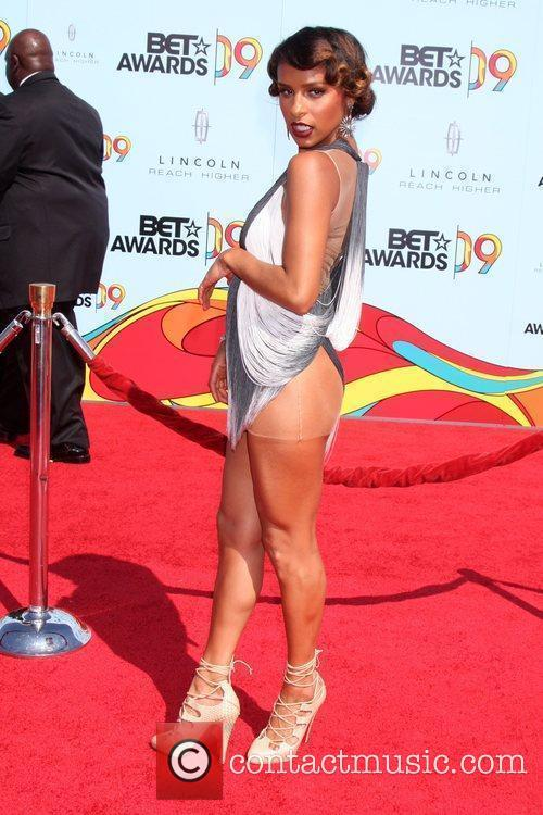 Melody Thornton 2009 BET Awards held at the...