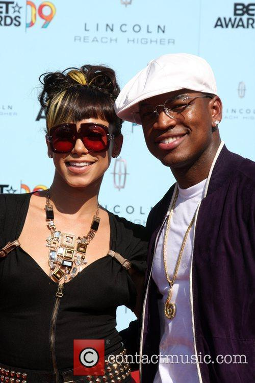 Ne-Yo and Guest 2009 BET Awards held at...